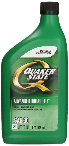 Quaker state 550035190 6pk sae 30 heavy duty motor oil 1 quart pack of 6 best price Best price on motor oil