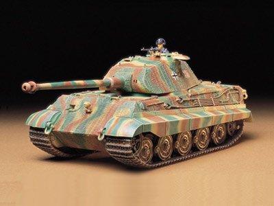 1:35 Military Miniature Series King Tiger Porsche Turret...