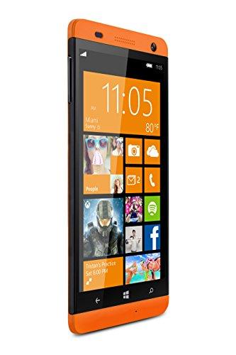 BLU Win HD 5-Inch Windows Phone 8.1, 8MP Camera Unlocked Cell Phones - Orange