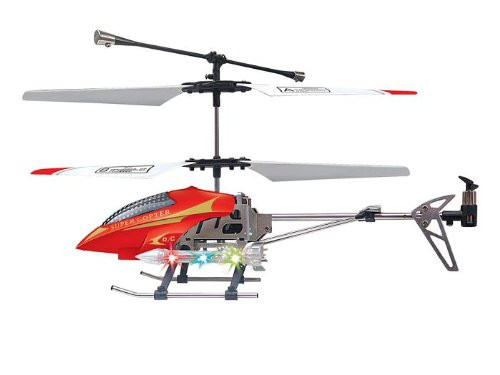 Red RC Helicopter Skyhawk W909 2CH Metal Radio Controlled from Indigo Recommended Age: 3 years or over