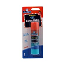 Elmer's Washable Gel School Glue Stick, 0.88 oz, Single Stick (E519)