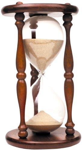 ec482d42ccd5 Koch 11000 - Reloj de arena de 1 hora (pack de 1) color marrón - rojo de  Koch