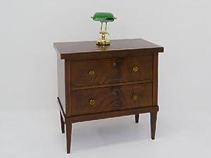 kleine kommode antik um 1920 nussbaum furniert. Black Bedroom Furniture Sets. Home Design Ideas