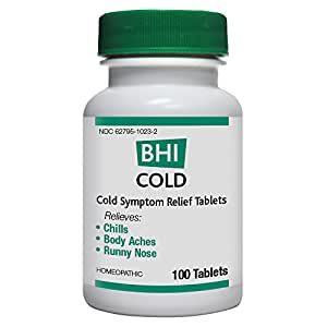BHI Cold Tablets, 100 Count