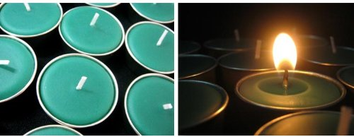 Lemon grass scented,Tealight candles set of 10