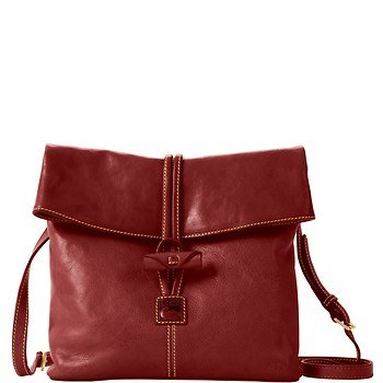Dooney & Bourke Florentine Medium Toggle Crossbody, Crimson