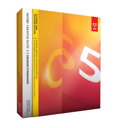 Adobe Creative Suite 5.5 Design Standard, Student & Teacher version (PC)