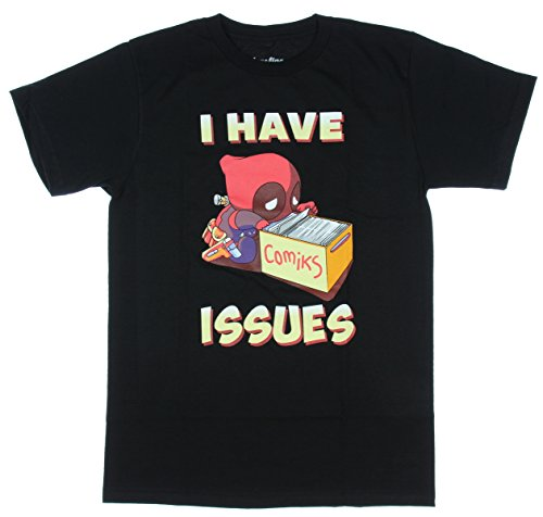 Marvel-Deadpool-I-have-Issues-T-shirt