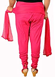 Tinnu G Women's Cotton Salwar and Dupatta Set (TGCSD1101_Maroon_Free Size)