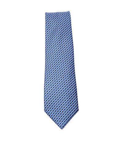 Canali Corbata Azul / Blanco