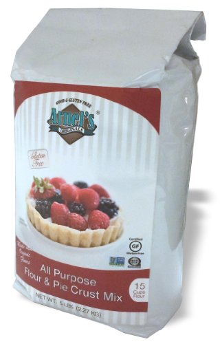 Gluten free organic all purpose flour pie crust mix by for Atkins cuisine all purpose baking mix where to buy