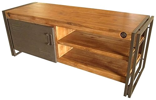 Mod Home Collection Berkland Acacia Wood TV Table, Small