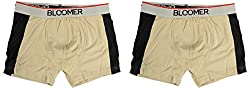 Bloomer Clothings Men Cotton Trunk (style_3038_2YL_S, Beige, S) (Pack of 2)