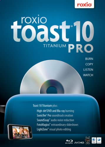 Roxio Toast 10 Titanium Pro for Mac [Download] [OLD VERSION]