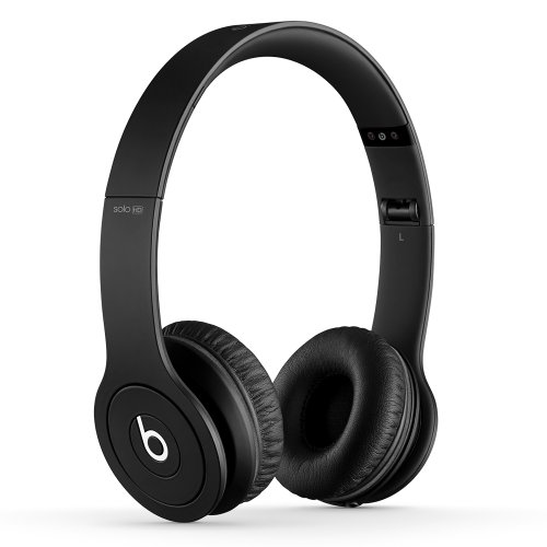 Beats Solo HD On-Ear Headphones (Drenched in Black)