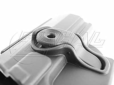 IMI-Z1330 IMI Defense Polymer Roto Right Hand Paddle Holster for CZ 75, 75 B Compact, 75 Omega, CZ75 BD, CZ 85 + 1x mini PVC Punisher patch