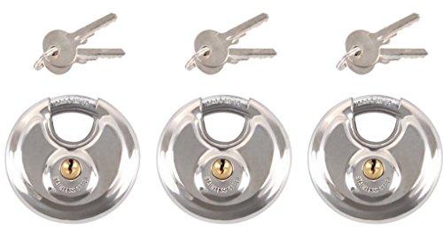 iapyx® gleichschließendes schloss, 3 Stück, Ø 70mm...