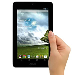 Tableta ASUS MeMO Pad ME172V-A1-GR de 7.0 pulgadas cpn memoria de 16 GB, color gris.