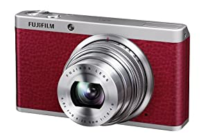 Fujifilm XF1 Digital Camera - Red (12MP, EXR-CMOS Sensor, 4x Optical Zoom) 3 inch LCD