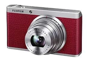 Fujifilm XF1, Fotocamera Digitale 12 MP, Sensore CMOS EXR 2/3 Pollici, Zoom 4x 25-100 mm, f/1.8-4.9, Stabilizzatore Ottico, Colore Rosso