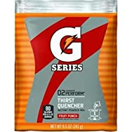 Quaker/Gatorade 03808 Gatorade Powder Sport Drink-8.5OZ FRUIT PUNCH POWDER