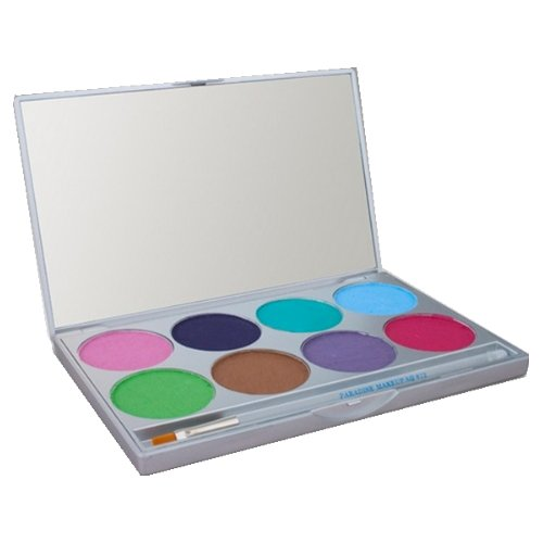 mehron Paradise Makeup AQ - 8 Color Palette - Pastel