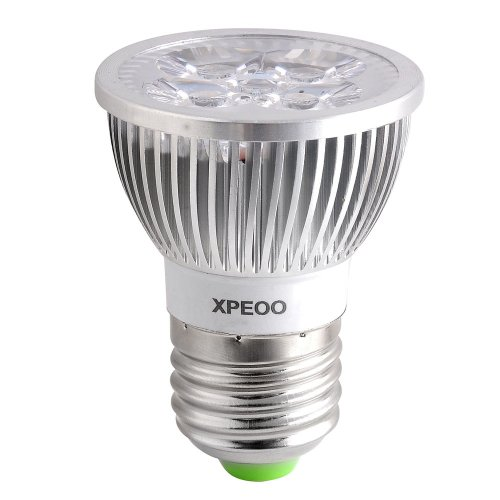 Xpeoo® Led 6W Gu10 Mr16 E27 E26 Spot Lights Lamp Bulbs Dimmable Flood Warm White Cool White Energy Saving 50W Halogen Socket 12V 110V 120V (E27 Dimmable Cool White 110V)