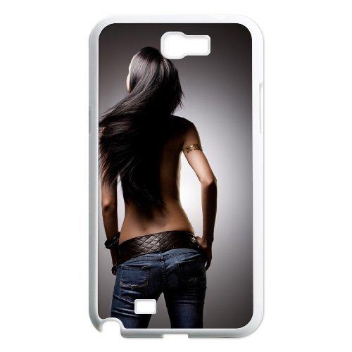 Samsung Galaxy Note 2 N7100 Sexy Figure Phone Back Case Art Print Design Hard Shell Protection Aq051885