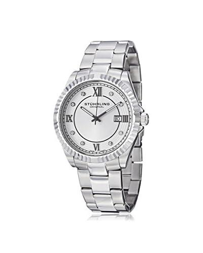 Stuhrling Original Men's 399G.33112 Nautic Classique Silver Stainless Steel Watch