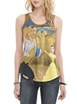Disney Beauty And The Beast Ballroom Dance Girls Tank Top Size : Medium