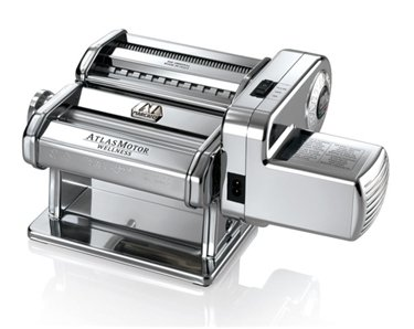 Electric Pasta Maker Set 150mm From Italy Cast Alloy Rollers Beautiful Precision Made (Atlas Motor Wellness compare prices)
