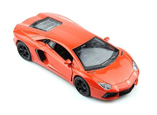 Brigamo0377-Die-Cast-Modellauto-RC-Auto-Lamborghini-Aventador-Ferngesteuertes-Auto-inkl-Akku-Ladegert