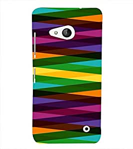 PrintVisa Digital Art Pattern 3D Hard Polycarbonate Designer Back Case Cover for Nokia Lumia 550