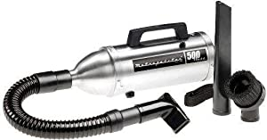 Metro Vacuum AM6BS Professional Stainless Steel Look 12V High Performance Hand Vac