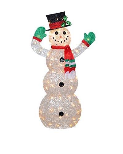 National Tree Company 48 Crystal Snowman