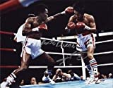 Sugar Ray Leonard Roberto Duran Dual Signed 11x14 Photo 8c - PSA/DNA Certified - Autographed Boxing Photos