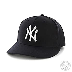 MLB New York Yankees Men's '47 Brand Home Bullpen MVP Cap, Navy, One-Size
