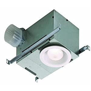 Exhaust Fan with Recessed Light