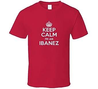 Amazon.com: Ibanez Keep Calm Parody Family Tee T Shirt: Clothing