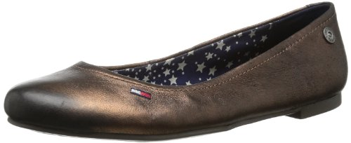 Hilfiger Denim Womens ALLEN 8A Closed Brown Braun (BRONZE 705) Size: 6 (39 EU)