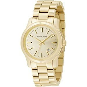 Michael Kors Watches Ladies 3 Hand Runway