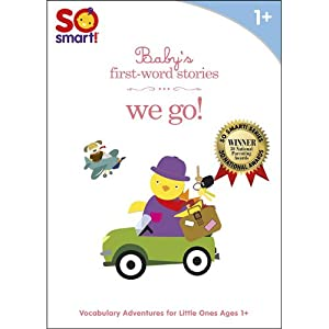 So Smart! First Word Stories: We Go