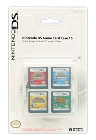 Nintendo DS Game Card Case 16 - Clear