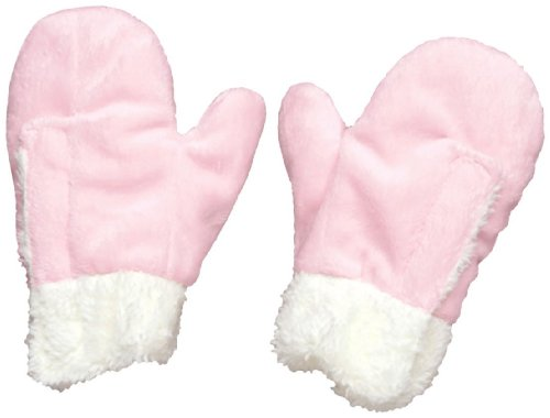 I play. Baby Soft and Snuggly Mittens, Pink, 6 Months