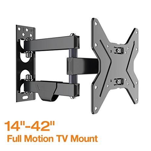 Full Motion Articulating TV wall mount Tilt Swivel Bracket for 14''-42