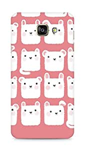 Amez designer printed 3d premium high quality back case cover for Samsung Galaxy A7 (2016 EDITION) (bunny collage )