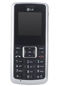 LG KP130 Handy (Dualband, Kamera) silber / schwarz