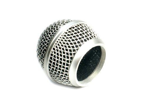 Mesh Microphone Grille Fits Shure Sm58 Microphone - Die-Cast