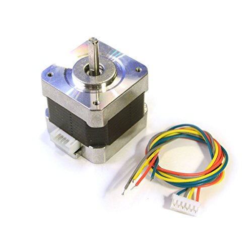 Reprap champion nema 17 bipolar stepper motor 57 oz in 3d for Nema 17 stepper motor datasheet