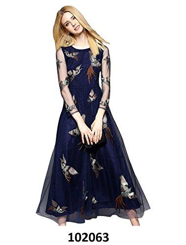 Fkart-Womens-Dress-FK9257BLUELargeBLUE